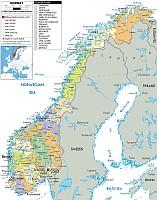 norvégia autó térkép